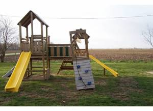 playset tornado damage