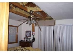 tornado damage M bdrm